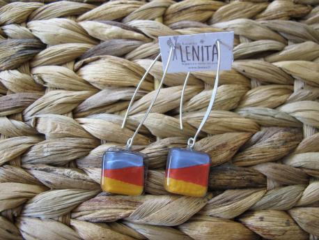 louga-boucles-d-oreilles-carree-fermoir-long-parme-rouge-terracota-jaune-curry